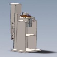 vertical-linear-drive-CG模型-3D城