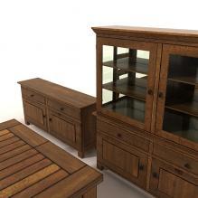 欧式家具-家居-柜子-CG模型-3D城