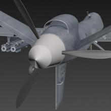 战斗机-飞机-军事飞机-CG模型-3D城