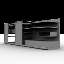 书架-家居-柜子-CG模型-3D城