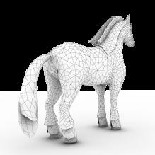 马-动物-CG模型-3D城