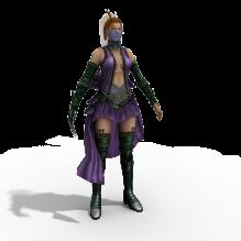 性感刺客-人物_角色-角色-CG模型-3D城