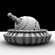 炮台-军事_武器-科幻-CG模型-3D城