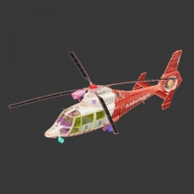 Eurocopter AS 365 US-飞机-直升机-CG模型-3D城