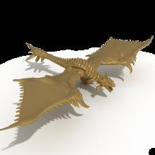 飞龙-动物-科幻-CG模型-3D城