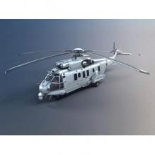 直升机-飞机-军事飞机-CG模型-3D城