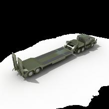 拖车-汽车-卡车-CG模型-3D城