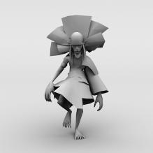 狐狸-人物_角色-小孩-CG模型-3D城