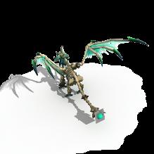 魔龙菲米斯-动物-科幻-CG模型-3D城