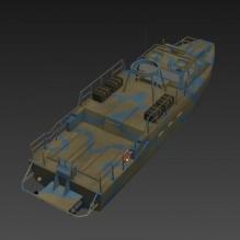军用艇-飞机-军事飞机-CG模型-3D城