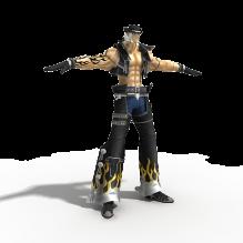 枪神-人物_角色-小孩-CG模型-3D城