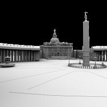 建筑-室外建筑-古建筑-CG模型-3D城