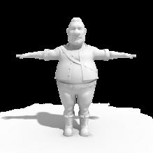 角色-人物_角色-小孩-CG模型-3D城