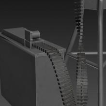 加特林-飞机-军事飞机-CG模型-3D城