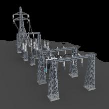 Power_Grid-室外建筑-工业_厂房-CG模型-3D城