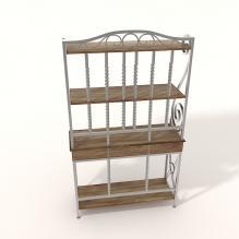 欧式搁物架-家居-柜子-CG模型-3D城