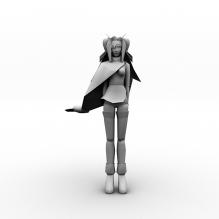 女孩-人物_角色-角色-CG模型-3D城