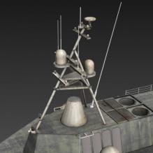 航空母舰-飞机-军事飞机-CG模型-3D城