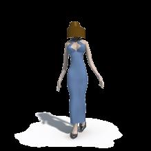 西湖边美女在散步