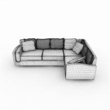 多人沙发-家居-沙发-CG模型-3D城