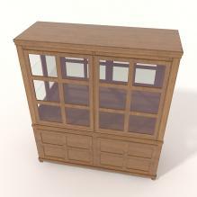 欧式橱柜-家居-柜子-CG模型-3D城