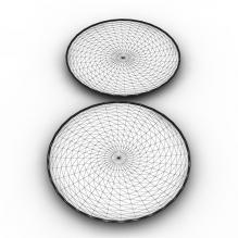 盘子-生活办公用品-其它-CG模型-3D城