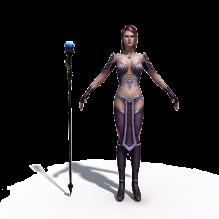 女性角色-人物_角色-角色-CG模型-3D城