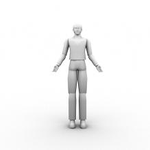 游戏人物-人物_角色-角色-CG模型-3D城
