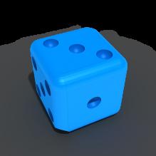 骰子-体育_爱好-3D打印模型-3D城