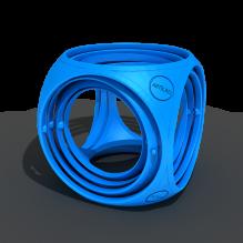 陀螺立方体-艺术-艺术品-3D打印模型-3D城