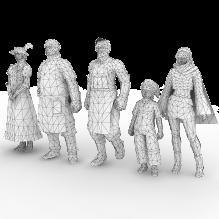 最终幻想15b-人物_角色-角色-CG模型-3D城
