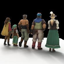 最终幻想15b-人物&角色-角色-CG模型-3D城