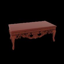 古老的欧洲风格的咖啡桌