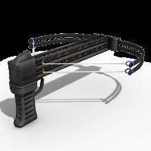 弩枪b-军事_武器-古代兵器-CG模型-3D城