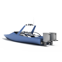 快艇-船舶-其它-CG模型-3D城