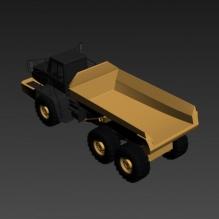 运输车-汽车-卡车-CG模型-3D城