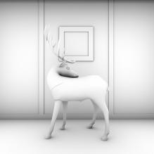 展示台-室内建筑-商业_办公-CG模型-3D城