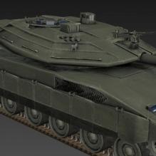 坦克-军事&武器-其它-CG模型-3D城