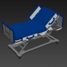 高级病床-科技医疗-医疗设备-CG模型-3D城