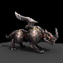 龙-动物-科幻-CG模型-3D城