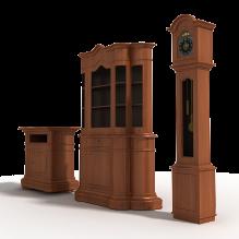 复古柜子-家居-柜子-CG模型-3D城