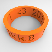 friendship ring-首饰-3D打印模型-3D城