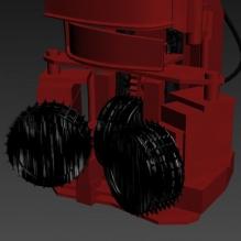 拆房机-汽车-卡车-CG模型-3D城