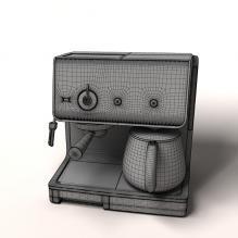 krups咖啡机-电子产品-家用电器-CG模型-3D城