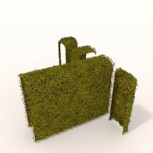 园艺构件-动植物-其它-VR/AR模型-3D城