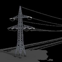 高压电缆塔