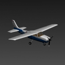 塞斯纳172-飞机-其它-CG模型-3D城