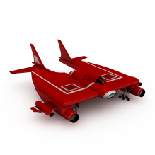 飞船-科技医疗-航天卫星-CG模型-3D城