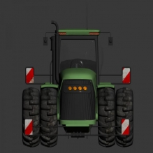 拖拉机-汽车-卡车-CG模型-3D城