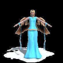 精品女性角色模型